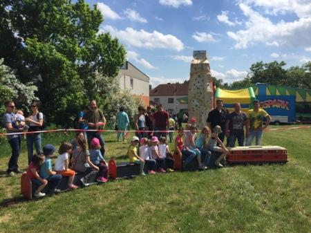 Kindernachmittag am FF Winzendorf Fest